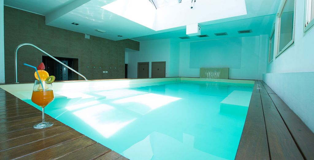 En het binnenzwembad