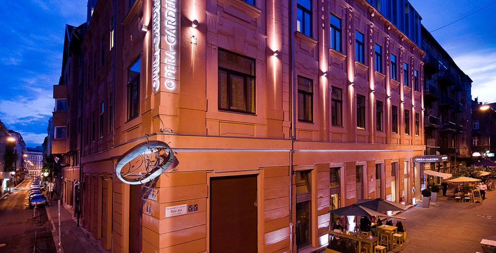 Welkom in Opera Garden Hotel