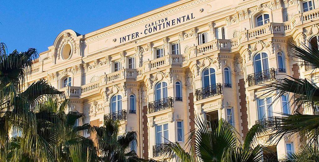 Welkom in het Intercontinental Carlton Cannes 5*