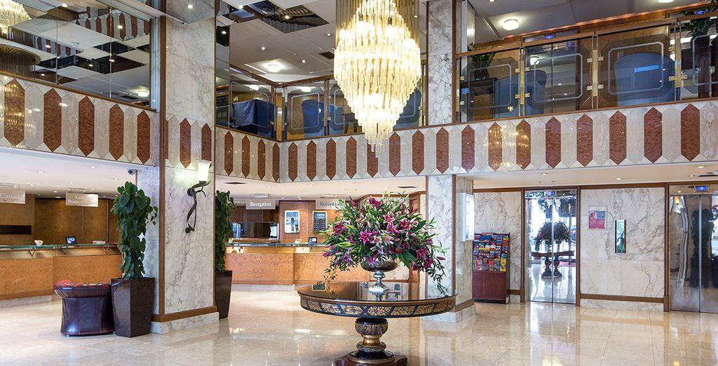 Welkom in hotel Danubius Regent's Park 4*