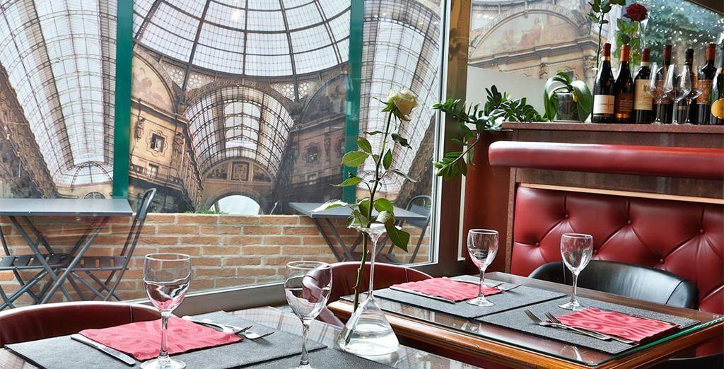 Proef van heerlijke Italiaanse gerechten