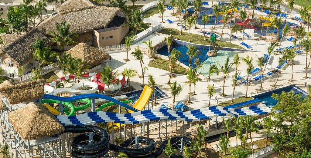 En met het grootste waterpark van de Caraïben!