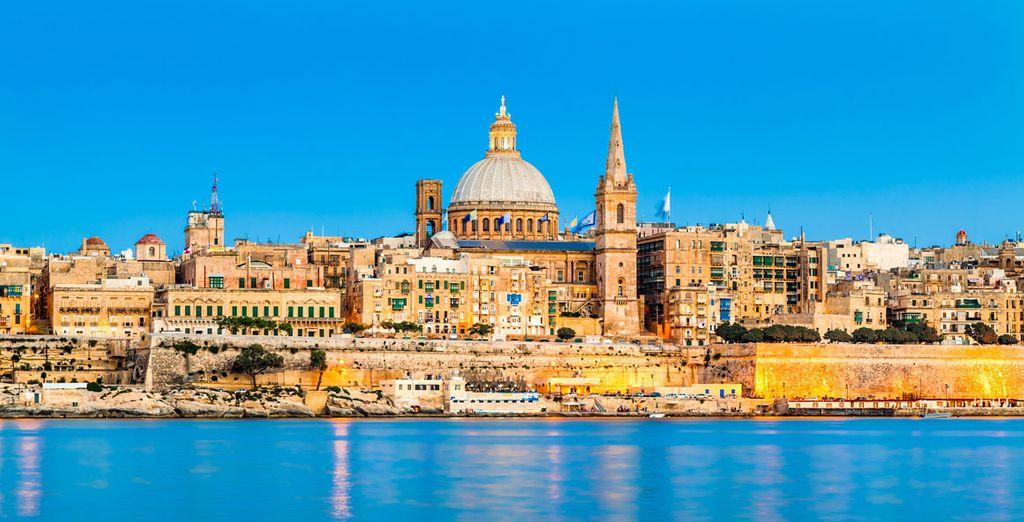 Op het sublieme Malta