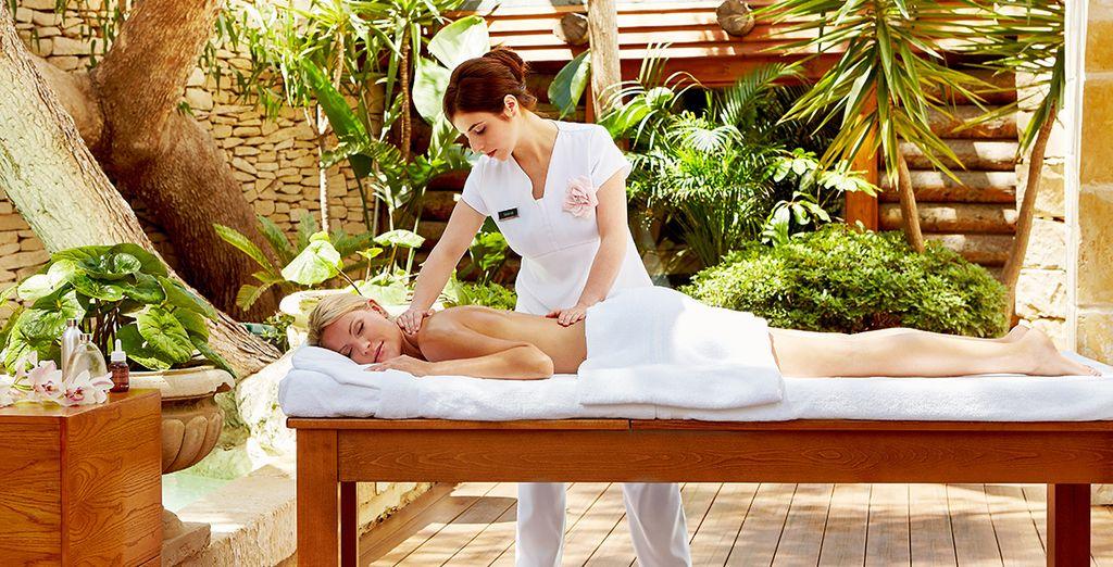 Of tijd voor een massage in de spa