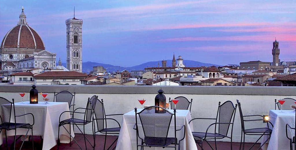 Het Boscolo Astoria 4*, met uitzicht op de Duomo!