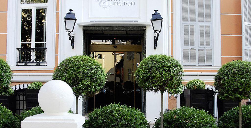 Gelegen in het hart van Nice, aan de stijlvolle Boulevard Dubouchage