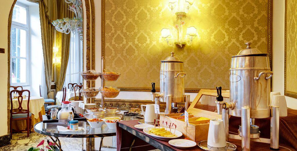 Begin uw dag met een goed ontbijt