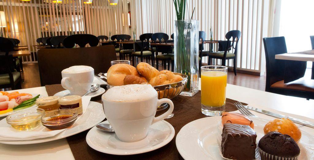 U verblijft inclusief ontbijt