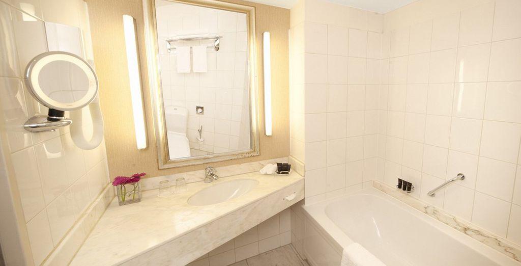 Zoals een goed uitgeruste badkamer