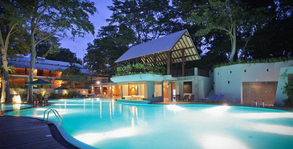 U verblijft in moderne en comfortabele hotels