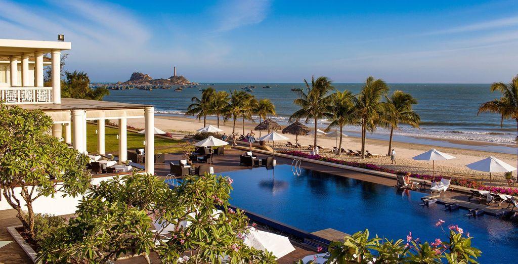 Hier verblijft u in het Princess d'Annam Resort