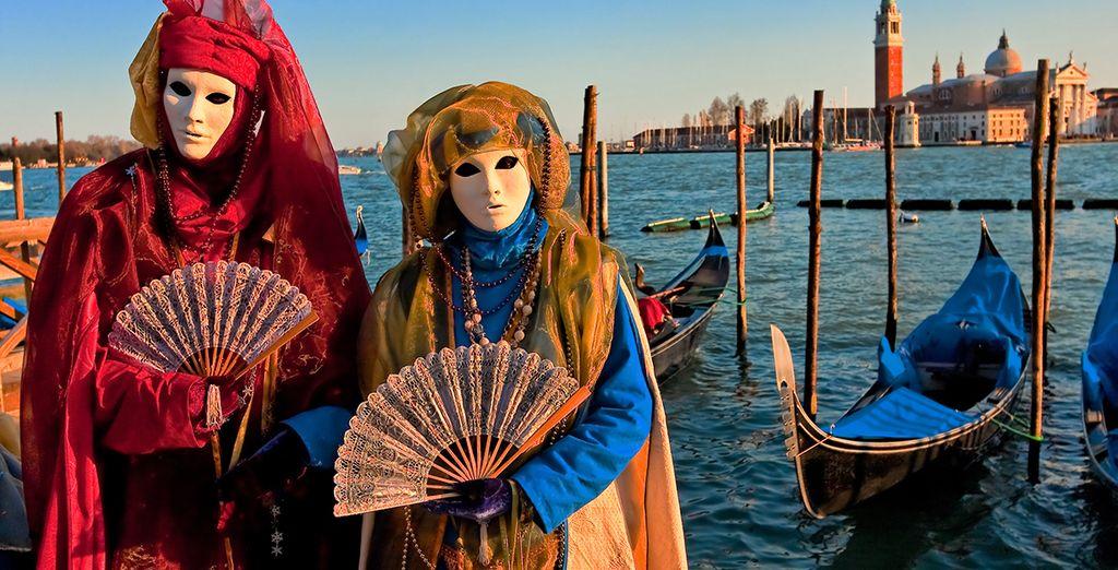 Ontdek Venetië nu tijdens het beroemde carnaval!