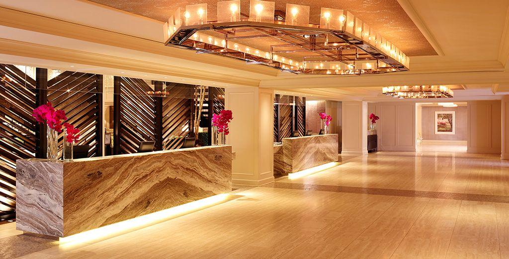 In een charmant Art Deco hotel