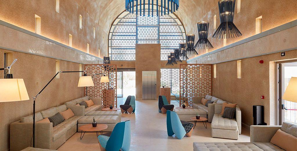Een prachtig luxe hotel!