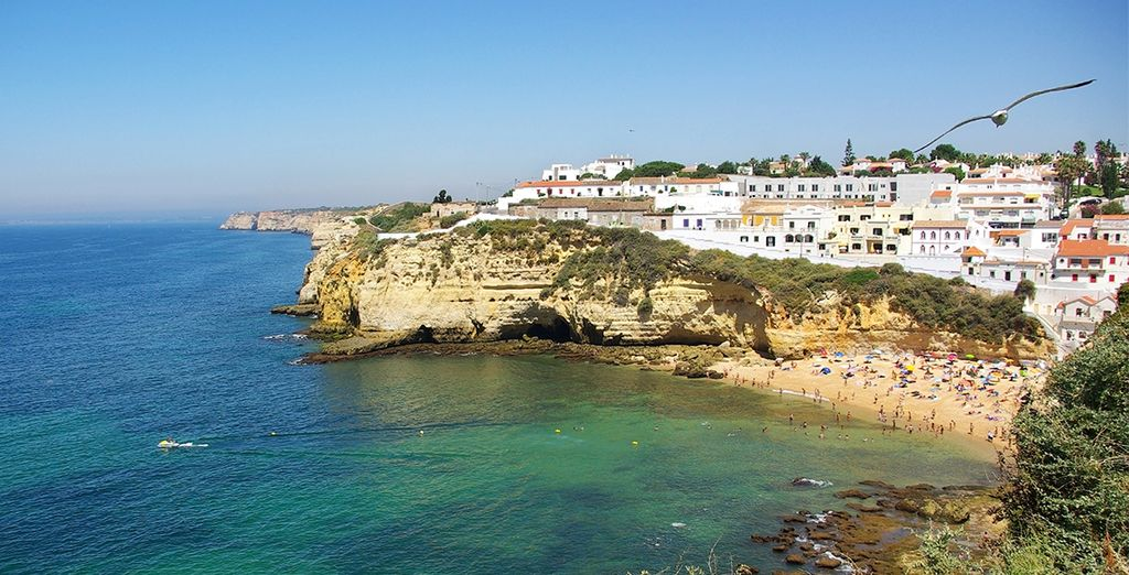 Then head out to discover Carvoeiro