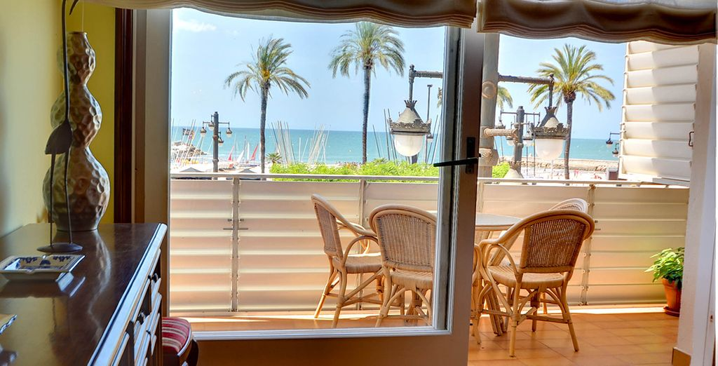 With great sea views