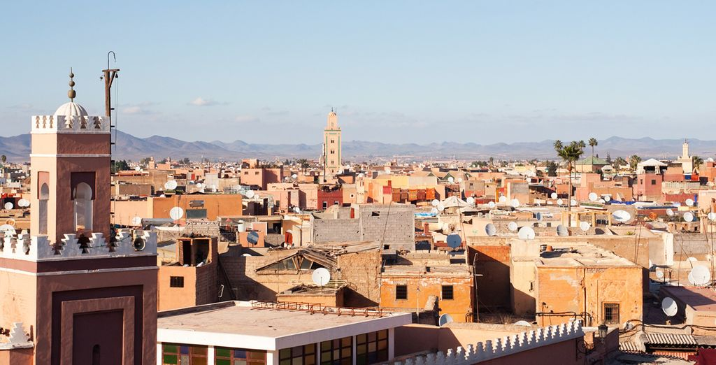 Be enchanted by the atmosphere and the generosity of Marrakech