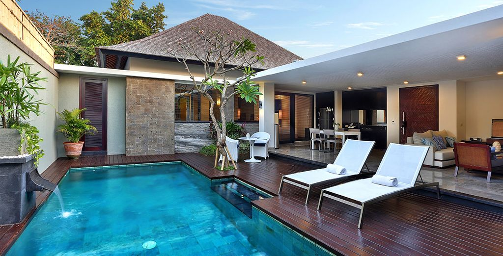 Where divine villas with private pools are waiting just for you...