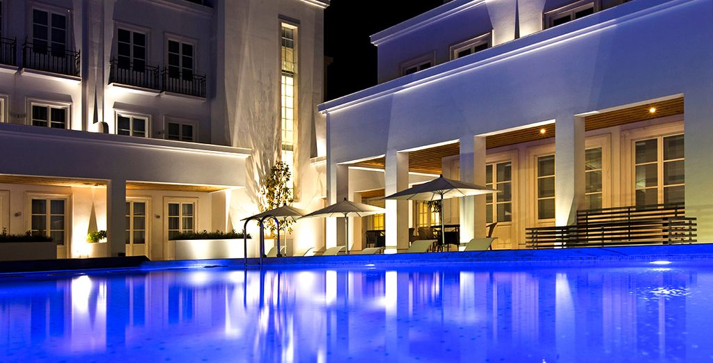Immerse yourself in a luxurious setting