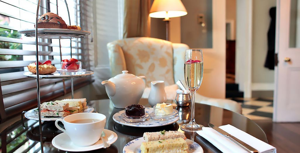 Treat yourself to a traditional afternoon tea