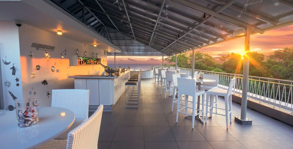 And the terrace!