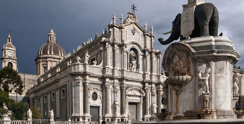 Explore the town of Catania