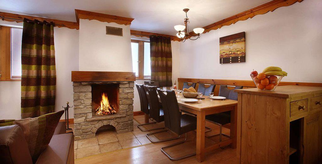 Enjoy a quaint and classically Alpine Apartment