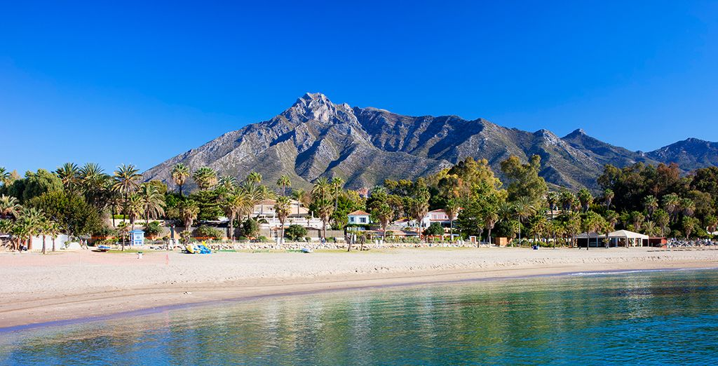 Explore the splendid beaches of Marbella
