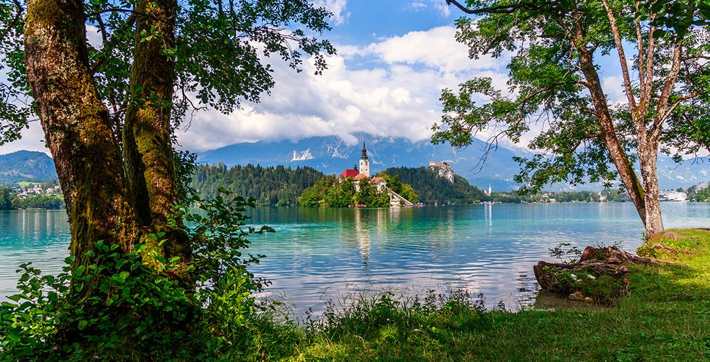 And the famous Lake Bled
