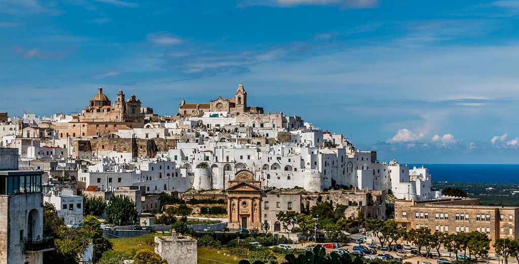 Discover the white city of Ostuni in all its glory