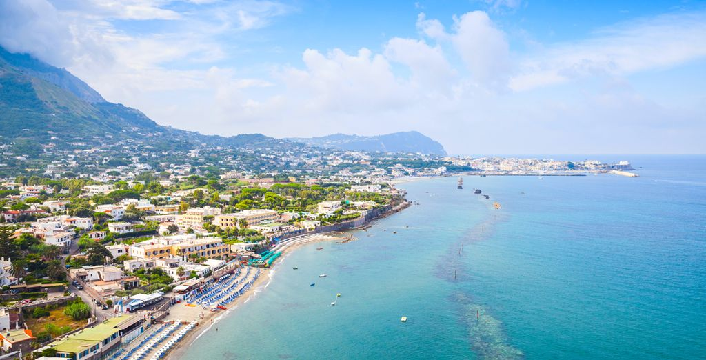 Ischia is a magical place of endless blue skies