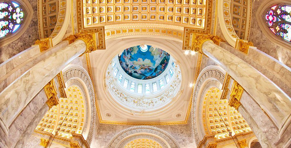 Explore the fabulous architecture...