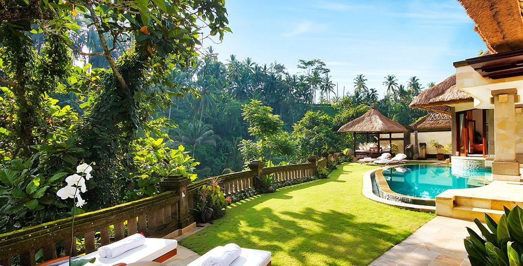 For a memorable experience, choose the Viceroy Villa