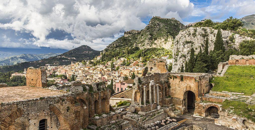 Head to Taormina in Sicily