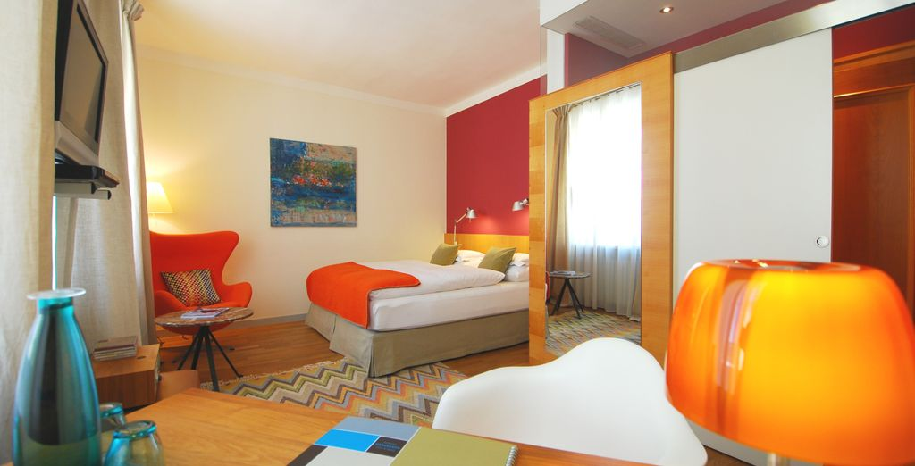 Or the comfortable and quiet Double Room