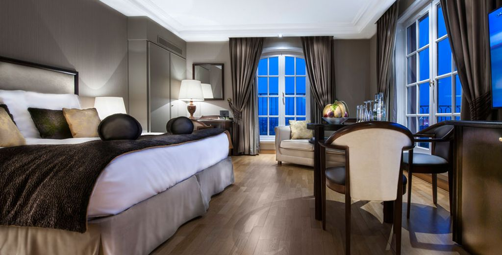 Opt for a Junior Suite