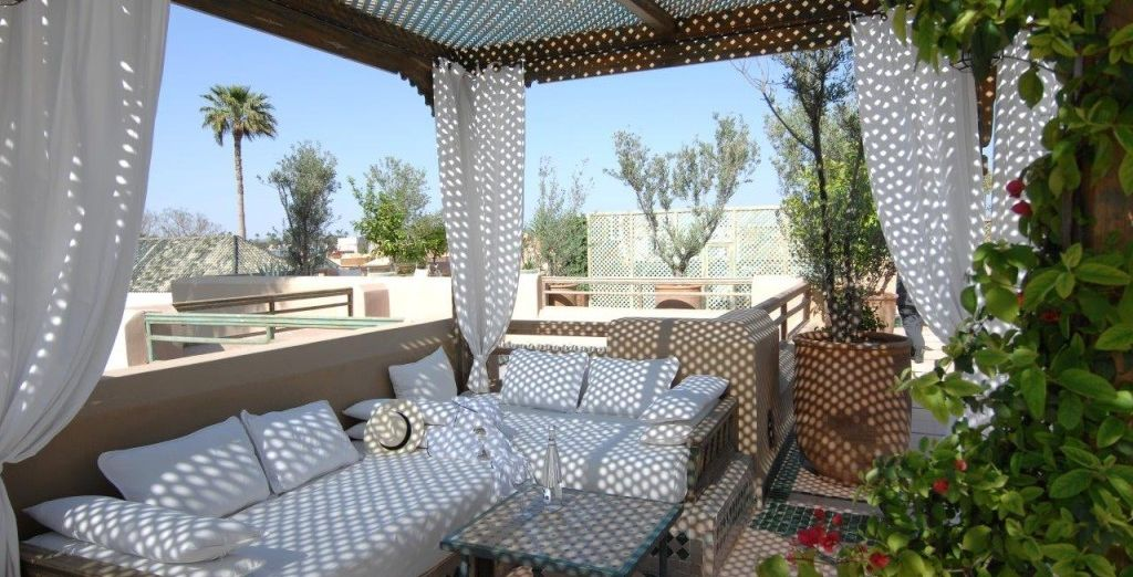 Stay in an authentic Riad