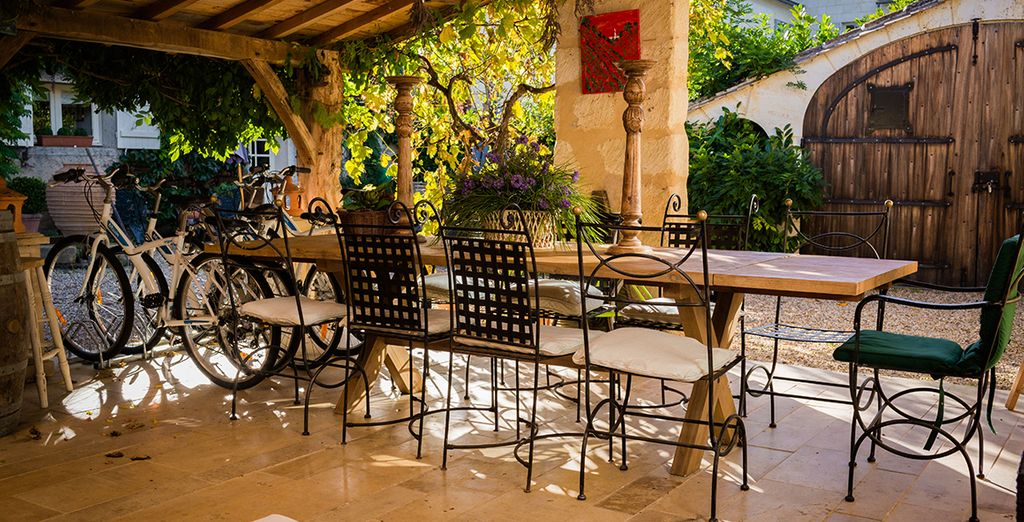 Or on the sub-dappled terrace perfect for creating lifetime memories