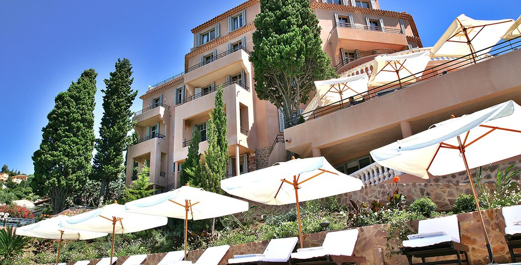 Here you can find serenity and calm, away from the hustle and bustle of Cannes city centre