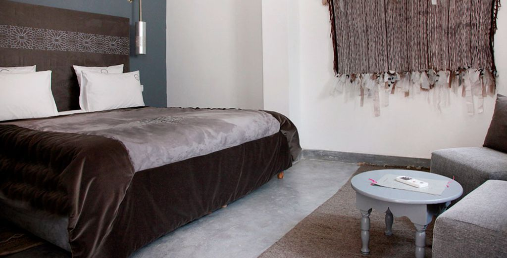 A comfortable and cosy Khait Superior Room