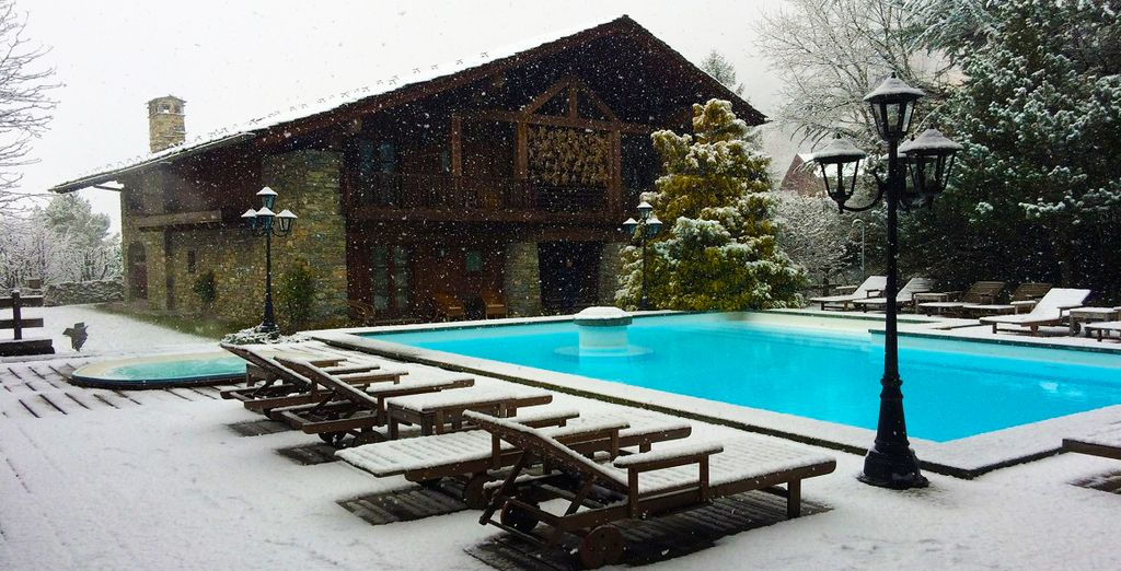 Or swim in the heated outdoor pool!