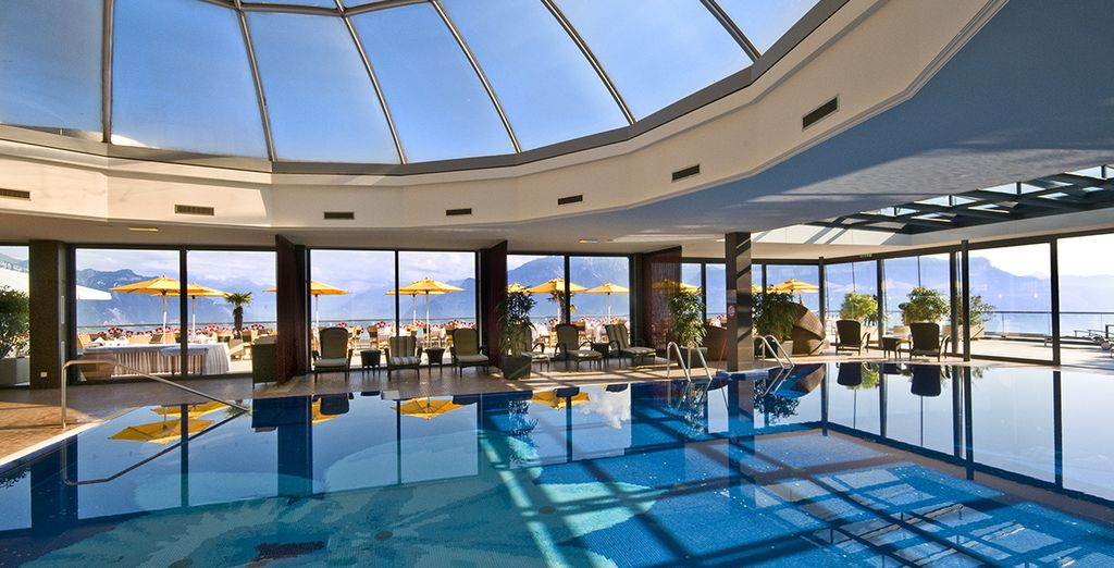Its indoor pool is a marvel,