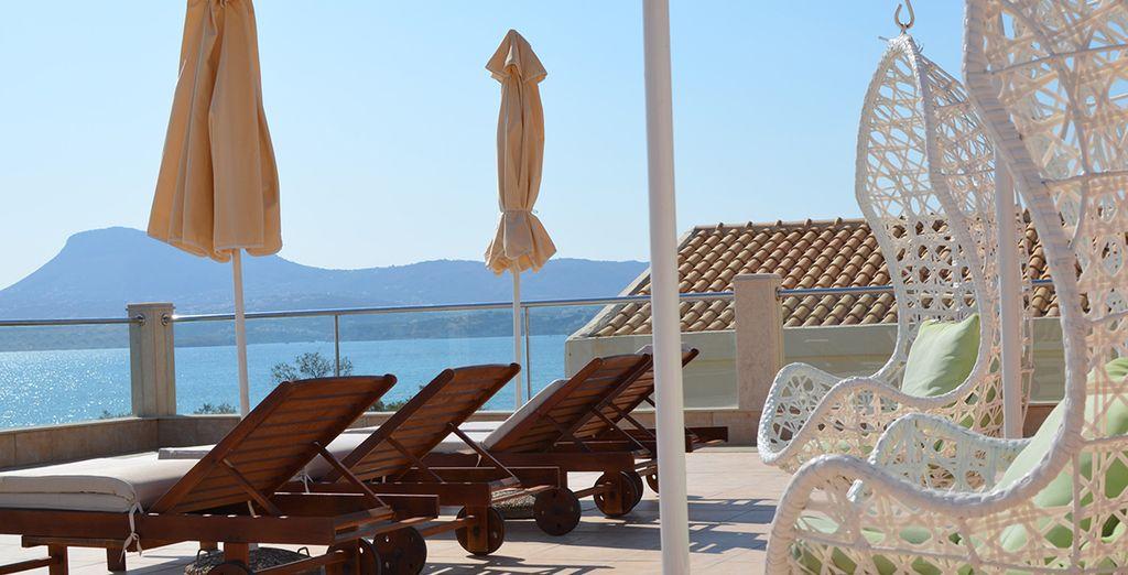 Top up your tan on an award winning beach