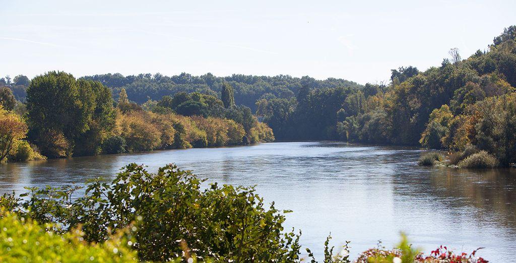Of the famed Dordogne Valley