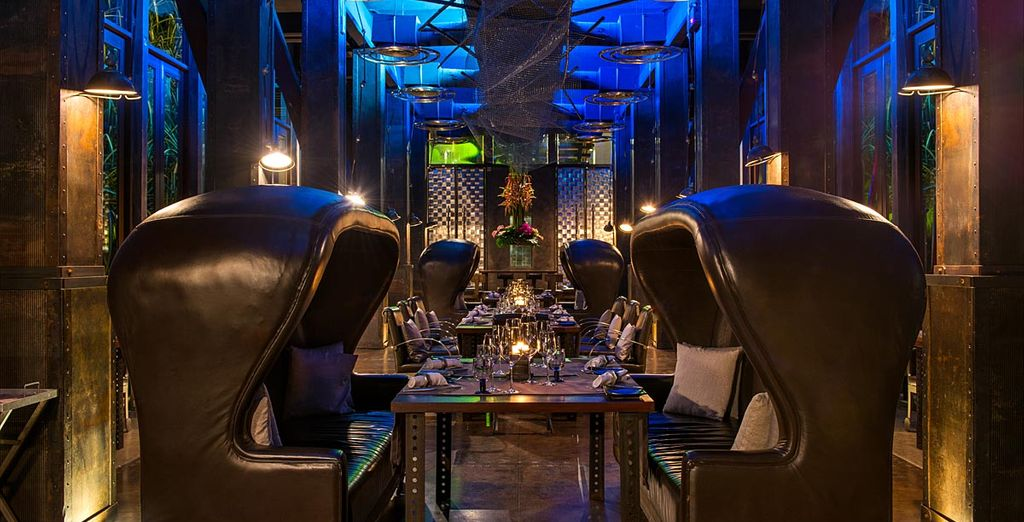 The interiors will take your senses on a journey...