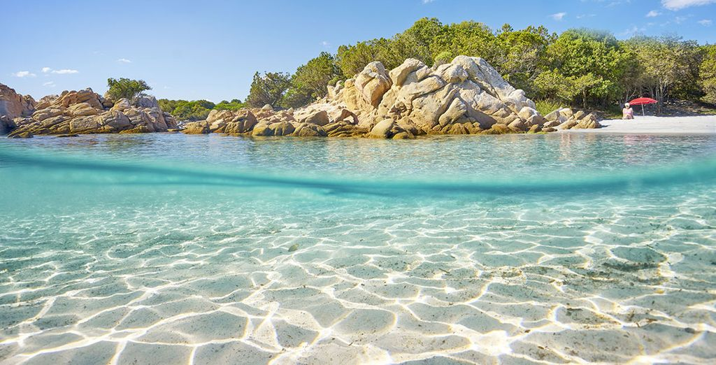Ideally located on the Costa Smeralda