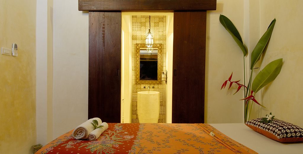 Kala Spa awaits you ... Indoors
