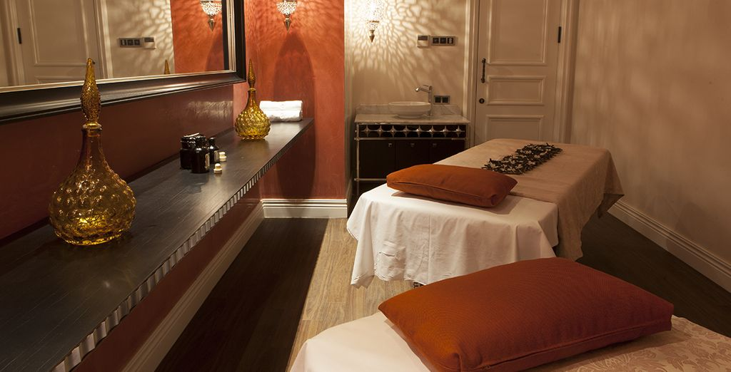For a moment of pure relaxation, head to the Spa