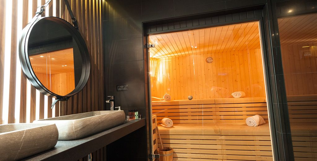 Or relax at the Spa Hotel