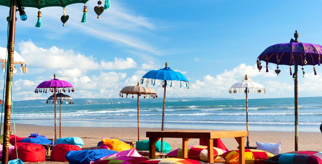 Head out to explore the surroundings such as Seminyak Beach